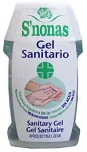 Gel sanitario hidroalcohólico para manos. Higiene en manos sin agua 10 ...