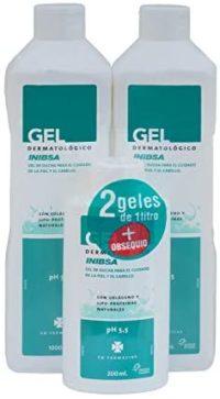 Geles Inibsa | Pack 2 unidades Gel Dermatológico 1000 ml + Gel Dermatológico ...