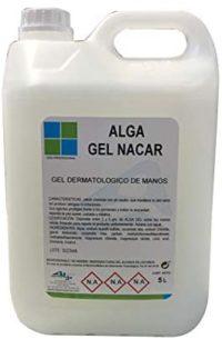 Jabón Alga Gel Hidratante Desinfectante para Manos 5L - Gel Nacar