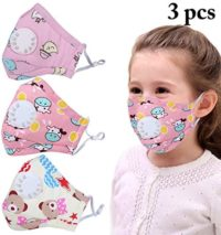 Kapmore Niños Máscara De La Boca PM2.5 Anti Niebla Máscara Respirable ...