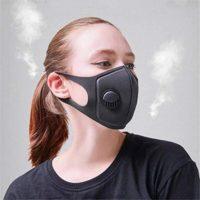 Máscara antipolvo, Máscara Máscara de algodón Máscara bucal lavable ...