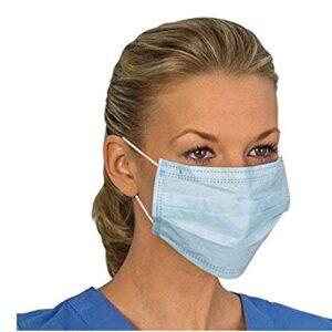 Máscara desechable de tres capas, transpirable, a prueba de polvo, adecuada para ...