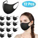 Máscara facial Morfone, 12 máscaras de protección bucal reutilizables, ...