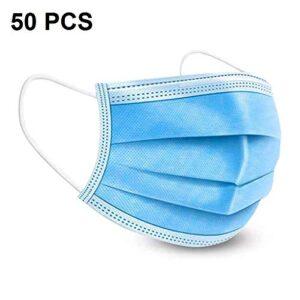 Máscaras desechables, 50 piezas Filtro de 3 capas desechable ...