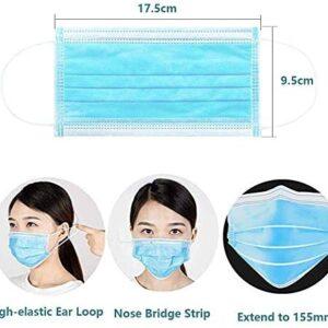 Máscaras faciales, paquete de 20 máscaras con cierre estándar para ...