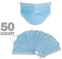 O-TM transpirable, máscara médica quirúrgica estándar, 50 piezas desechables ...