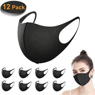 Paquete de 12 máscaras, máscara antipolvo ACMETOP, máscaras antipolvo ...