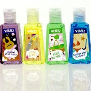 """Paquete de 6 Mini - Webeez antibacterial & # 39; Colección de verano """""""