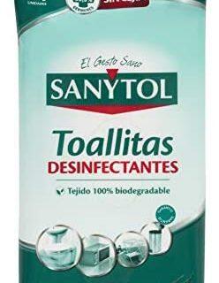 Sanytol - Toallitas desinfectantes multisuperficies - 24 unidades, Pac ...