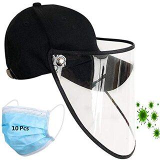 Sudadera con capucha, máscara protectora para adultos, sombrero de pescador, ...