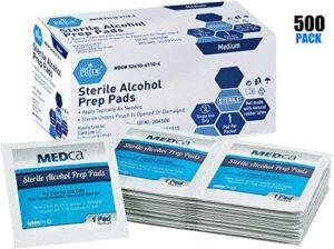 Toallitas con alcohol - Almohadillas estériles de preparación con alco...
