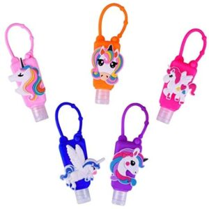 Ulife Mall Botellas de viaje portátiles de 5 piezas para niños, 30 ml Cont ...