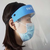 Visera protectora facial Veperain, careta de seguridad, ...
