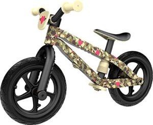 Bicicleta de aprendizaje Chillafish BMXie-RS Army of Love, niño ...