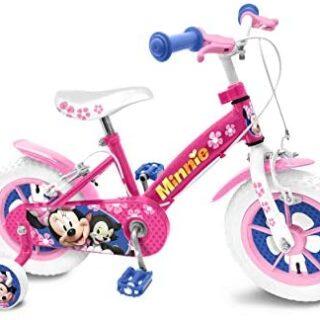 Stamp Minnie C862020NBA - Bicicleta de 14 pulgadas, color rosa