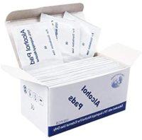 100 piezas / caja de toallitas antivirales antibacterianas, bastoncillos de algodón ...
