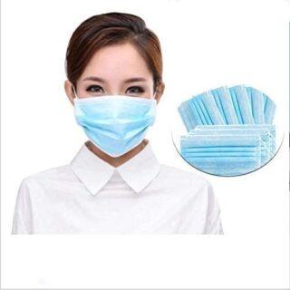 Adultos 50 piezas Máscaras desechables, máscaras de tres capas, más ...