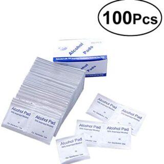 BESTOMZ 100 piezas Tabletas / Caja de algodón Tabletas Algodón ...