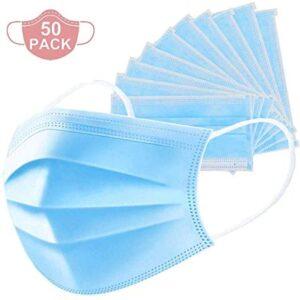 BTJC88 50pack Einwegschutzprodukte Gesichtsschutz Proteger la nariz Mu ...