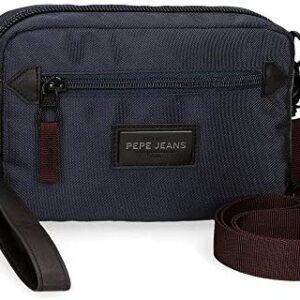 Bolso de hombro azul de Lambert de Pepe Jeans