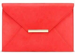 Bolso de mano Anna Smith para mujer con bolso de metal dorado con correa de cadena D ...