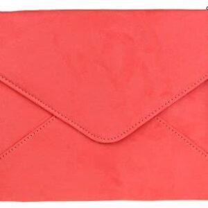 Bolsos femeninos de gamuza sobre bolso de embrague