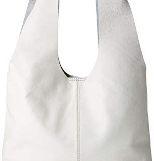 Clarks - Tornolo Star, Bolso Mujer, Blanco (White Leather)