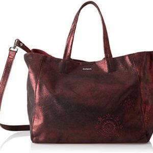 Desigual BRILLI CUENCA Bolso shopping femmes Burdeo Bolso shopping