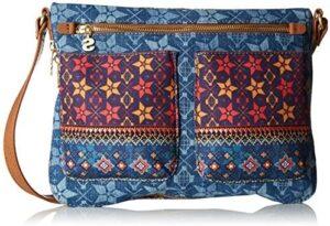 Desigual - Bols_mystic Baqueira, Bolsos de hombro para mujer, Blau (Jeans), ...