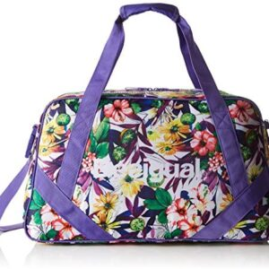 Desigual L Bag G, Medium Side Bag for Women, Purple (3168 PURPLE ...