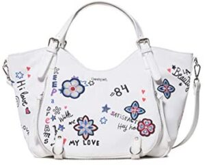 Desigual SHIBUYA ROTTERDAM Bolso Femmes Blanco Bolso para llevar ...