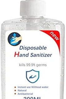 Dough.Q Gel antibacteriano-hidroalcohólico para manos Higienic Gel 300 ...