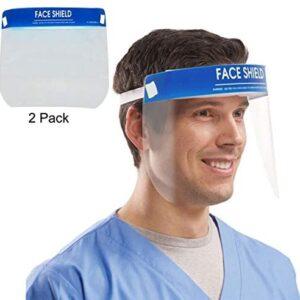 El protector de seguridad desechable JFJL Face Shield protege los ojos ...