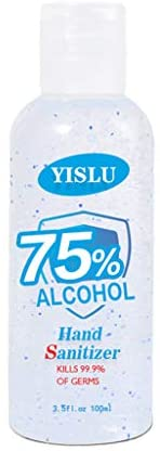 Gel de lavado de manos xiuJUNhoho, 100 ml, 75% de alcohol, desechable, ...