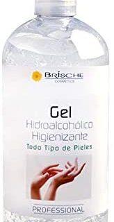 Gel desinfectante para manos hidroalcohólico 500ml Brische