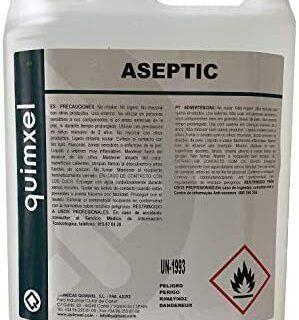 Gel hidroalcohólico aséptico Quimxel - 5 litros