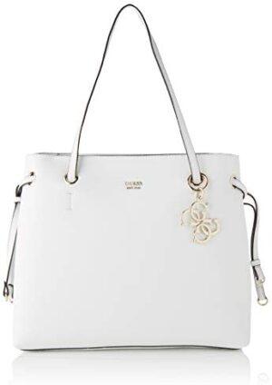 Guess Digital Charm Logo Shopper, Bolso de mano para Mujer, Stampa, Ta ...