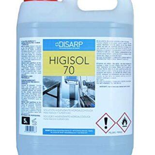 HIGISOL 70 - Solución hidroalcohólica para manos y superficies, antibacteriana ...