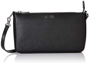 HUGO 50419213 - Bolso de hombro de cuero para mujer 14.5x13x22.5 cm (B x H ...