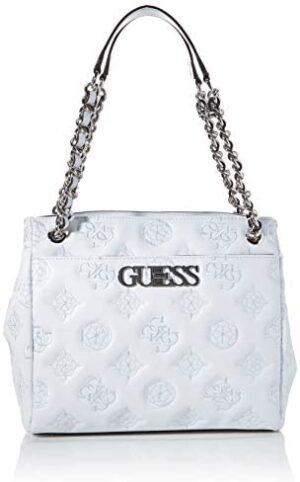 HWSY7589230 White Guess GUESS BOLSO PRINCIPAL Borsa Donna