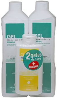 Inibsa Gels 2 Geles Dermatológicos 1000 ml + Champú 200 ml - 1 Paquete