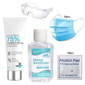 Jabón de manos desechable con gel de alcohol al 75%, mata el 99,99% de gérmenes ...