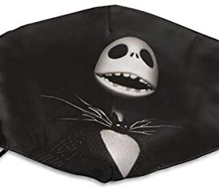 Jack Skellington 2 mascarillas, unisex, antipolvo, lavables, ...