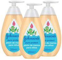 Johnson & # 39; s Pure Protect - Jabón de manos 3 x 300 ml