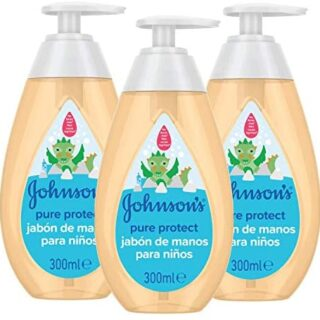 Johnson & # 39; s Pure Protect - Jabón de manos 3 x 300 ml