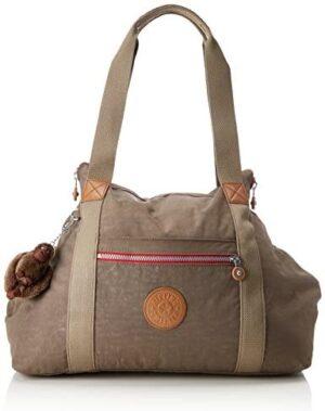Kipling ART M Canvas and Beach Bag, 58 cm, 26 litros, Beige (True C)