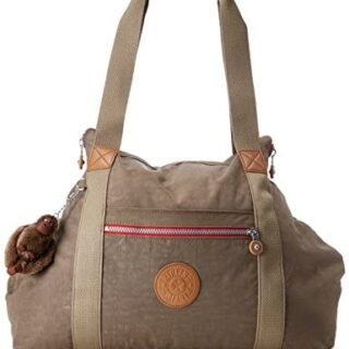 Kipling ART M Canvas and Beach Bag, 58 cm, 26 litros, Beige (True C)