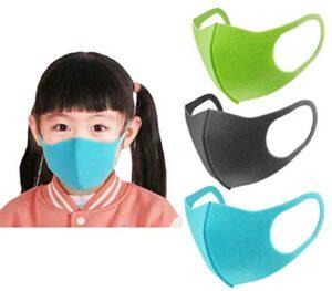 Lojayve01 Máscaras en polvo para niños Máscaras de Pm2. 5 Máscaras tranquilas ...