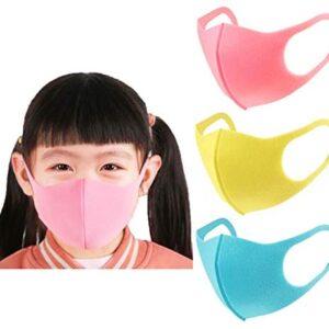 Máscara de polvo para niños, máscara de boca de esponja contra ...