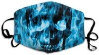 Máscara lavable a prueba de polvo de Houity con diseño de calavera ...